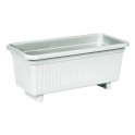 Classic flower planter (white color)